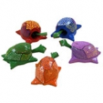 Nodding Nut Turtles - Set of 3