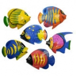Wall Hanger-Tropical Fish 20cm