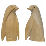 Penguins-Natural Wood