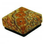 Batik Box 8x8cm.      Set of 4