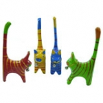 Bell Cats set of 4