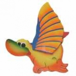Cartoon Dinosaur Flapper