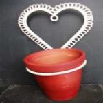Heart Plant Pot Holder