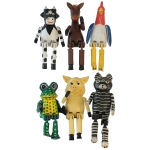 Jointed Animals Assorted     Pack:  6