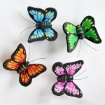 Butterfly Fridge Magnets. Pack of 5