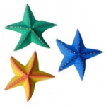 Starfish Fridge Magnets. pck 5