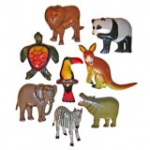 Animal Fridge Magnets. pck 10.