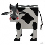 Cow Money Box.